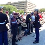 RT @JuliePursley6: Hoosiers gather for #POW-MIA Ceremony @indwarmemorial Story coming up on @rtv6 http://t.co/2LooCXwbQg