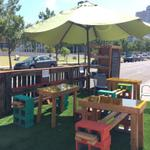 RT @OKCMidtowner: Let there be shade! Well be here @elementalcoffee until 7pm and tomorrow all day. Come get parklet-y. #PARKingdayOKC http://t.co/gKu2YbB49P