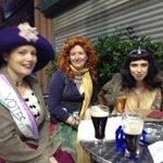 #CNB14 Emiline Pankhurst, Grace OMalley (Irish pirate) and Cleopatra (not drinking milk!) @belfemnet tour http://t.co/deUJWxz35f