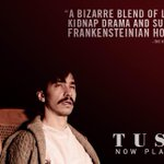 TODAY! Say #WalrusYes to the trippy terror of @tuskthemovie and you'll see a podcaster made into a beast! #TGITusk http://t.co/NS8JUsopXK