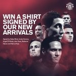 RT @ManUtd: Its your last chance to enter our competition for a #mufc shirt signed by our new arrivals: http://t.co/FvF7Tf7KSW http://t.co/6E7wH36m5Y