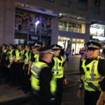 RT @RadioClydeNews: Buchanan Street now focus of this utter riot. Police barricade off the top of street. Subway station closed http://t.co/ial4HNd13a