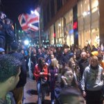 RT @IvisonJ: This has makings of something really nasty. Unionists on the march to George Square, Glasgow. Mood confrontational. http://t.co/kxaFYctotl