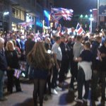 RT @IvisonJ: Getting ugly on Buchanan St in Glasgow. Unionist crowd looking for Yes supporters. Really sad sight. http://t.co/Fc9S81YHfh