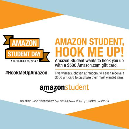 Tell us what you want from @Amazon & you could win a $500 Amazon gift card. #HookMeUpAmazon http://t.co/0cKECmmAND http://t.co/FZJcRFslsx