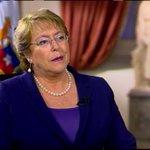 """Michelle Bachelet: """"Hay un antes y un después luego de la colocación de la bomba en el metro"""" http://t.co/fFAIh6Qqqj http://t.co/F40SJwKYuV"""