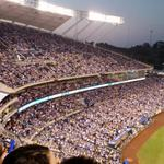 Nice to see the K filled to the brim! Go @Royals! #royalssocial #huntforblueoctober #royalswinfortim http://t.co/5Cqd6o0sQm