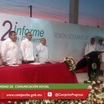 #AYER Gobernador @ferortegab asiste al 2do Informe de Actividades del Pdte. Mpal. de #Hopelchén, Alonso Pacheco Ucán. http://t.co/q17PuuQqzE