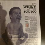 """@SInow: Kentucky paper prints picture of John Calipari as a crying baby http://t.co/xcuNLHJ9rQ http://t.co/H1oeqLJzle""???????????????? cause he is!"