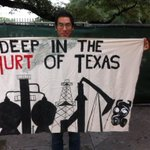 RT @EthanNuss: Deep in the Hurt of Texas #PeopleClimateMarch #Houston http://t.co/Lgja9rUwkT