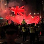 RT @TheRealMcGowan: Tonight the Unionists riot in Glasgow. Reports of casualties + damage to public property. Scotlands Shame. #IndyRef http://t.co/ShvpruoZNR
