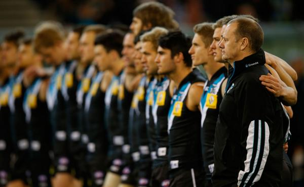 GAMEDAY! RT if you're pumped for today's Prelim Final! #weareportadelaide #AFLFinals http://t.co/jMRpAaS5Rq