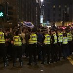 Police surrounding group of Indies St Vincent St/g Square chanting abuse at Unionists http://t.co/0ltqRdc0WB