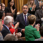 The Conservatives refused to debate #MMIW in Parliament. So the NDP did this. http://t.co/6euOFv224q #cdnpoli http://t.co/SPwo9dr40S