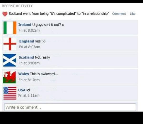 Pretty much sums up the Scotland / UK thing <3 http://t.co/20ZW65hj7l