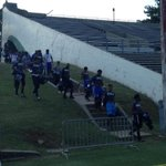 The Murrah Mustangs have arrived at Newell Field #MSSportsNow http://t.co/tvci8ZFOWR