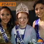 The girls who made sure homecoming queen crown went to bullied friend are making us happy today. #100happydays #Day81