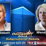 RT @KPRCLocal2: WATCH LIVE: Democrat Wendy Davis, Republican Greg Abbott debate http://t.co/n1L6dNM87X #KPRC http://t.co/WKUSHriITd
