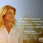 RT @PPTXVotes: .@WendyDavisTexas is on fire tonight and fighting for all Texans! #WomenWinTX #RGVDebate http://t.co/BGmGTnfvxN