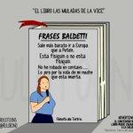 #FrasesBaldetti solo a alguien se le ocurre un montón de burradas https://t.co/QMnkEM89Wo