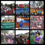 Updates from #Nepal and #India on their Climate Marches! @Peoples_Climate Thanks @350india and @sunilnpl for the pics http://t.co/PjBjOopsG5