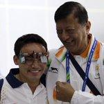 Congrats!! Jitu Rai gives India first gold in Asiad, wins 50m air pistol event. #GoldrushIndia http://t.co/A8l67FLITp