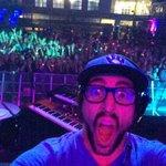 DJ Rikki Tikki #selfie with the #uafwalkthemoon crowd. http://t.co/GvNGi3ZwKB