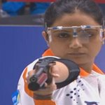 BRONZE! 10m air pistol shooter Shweta Chaudhry opens Indias medal account at #AsianGames2014. http://t.co/IiBMhXPIV7 http://t.co/5Khed5IG2n