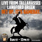 RT @ESPNCFB: Live from Tallahassee, @CollegeGameDay starts NOW! #GetUp4GameDay http://t.co/g2syf4tfNd