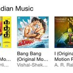 Today top 3 place in #iTunes albums 1. #Kaththi 2. Bang bang 3. I @anirudhofficial http://t.co/IFaLKIZwBW