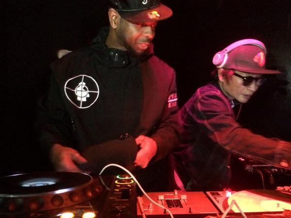 DJ LORD Public Enemy @lebarontokyo #lastnight #publicenemy http://t.co/GXeJKMXywc