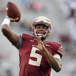 RT @SportsCenter: THIS JUST IN: Florida State QB Jameis Winston will not play in the game against Clemson on Saturday night. http://t.co/HOXeD0JSeK