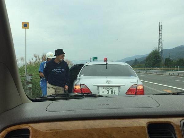 と思った矢先!田我流が何者かに連行された!果たして無事に岡山に着けるのか!? http://t.co/Eqq5dL8kNp