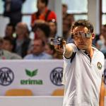 Indias Jitu Rai wins a gold medal in mens 50m Air Pistol finals. #AsianGames2014 http://t.co/LM7lkfNi7P