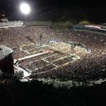 RT @abc7breaking: #1D show in #ElPaso sold out! More than 50k attended. Biggest crowd for concert in Sun Bowl history. Pic from UTEP http://t.co/3BB54d1QVH