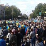 RT @novostidnua: Центр города заполнен людьми. День города #Мариуполь http://t.co/E3tO476GP3