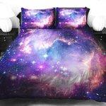 1000RT:【宇宙遊泳気分】壮大な宇宙モチーフのベッドカバー http://t.co/2kV68OjcwM 色鮮やかでスペイシーな雰囲気が細かく表現。生地はサテン。シーツや枕もあるので、全部そろえたらまさに宇宙につつまれて眠るこ… http://t.co/3l4MzSCglW