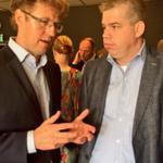 VVD fractie aanwezig in Haren bij de start van het politieke seizoen van VVD bestuurdersvereniging met Sander Dekker. http://t.co/X56Gb3LKVk