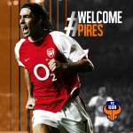 RT @FCGoaOfficial: #FCGoa is proud to announce its marquee player, Robert Pires!- @piresrobert7 Welcome the @Arsenal and French legend! http://t.co/HWYmd1DN9x