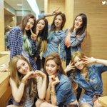 #GirlsGenerationTTS and #RedVelvet at MBC Show! Music Core. http://t.co/KS6MRIXXKk