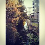 RT @tamboreczka: . @adamjennison @HuddersfieldUni i used to walk this little pathway to uni everyday :) always loved it & took pics! http://t.co/WJXQxRamEk