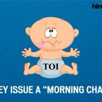 The #CryBaby @timesofindia Morning challenge is more of a Moaning challenge. http://t.co/b1ZOqxHRw8