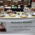 RT @KitchenMich: All set for cake selling at @altrinchammkt today #cake #cheshire #Manchester #Altrincham http://t.co/4BDvqeE6iy