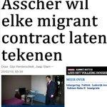 PvdA laat migranten Participatie-contract tekenen. En nu piepen over PVV AntiSharia-contract? http://t.co/tzsCSkLiOP http://t.co/m82tQJPmS5