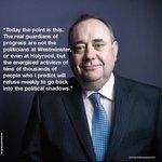 RT @highland007: #AlexSalmond #YesScotland #YesAllWomen #the45 http://t.co/8lLflAOWlA