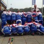 Overwinning beloond met nieuwe pakken! Dank @BurgersdijkOG, Tijdstroom en Spina Invest. #Trots http://t.co/rBKpcW9Rph