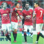 RT @Seputar_MCU: [PIC] MASTER OF PASSING !! #MUFC :) http://t.co/VBVDSdgrVZ