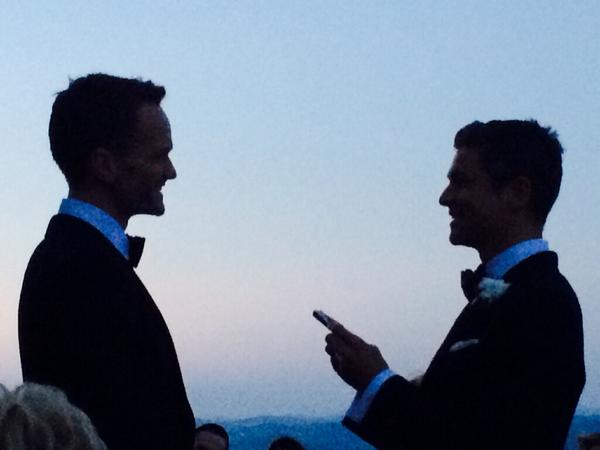 Neil Patrick Harris (@ActuallyNPH): Guess what? @DavidBurtka and I got married over the weekend. In Italy. Yup, we put the 'n' and 'd' in 'husband'. http://t.co/R09ibF41rt