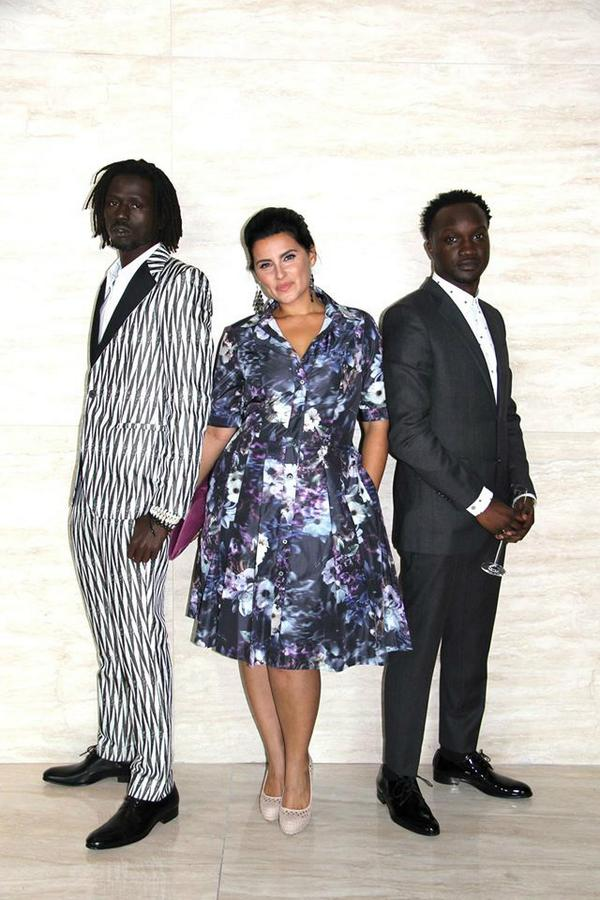 amazing time w beautiful sis @NellyFurtado @ArnoldOceng #TheGoodLie #TIFF14 premiere #Scars & #Party out 2morrow http://t.co/J6EKeSCz4w