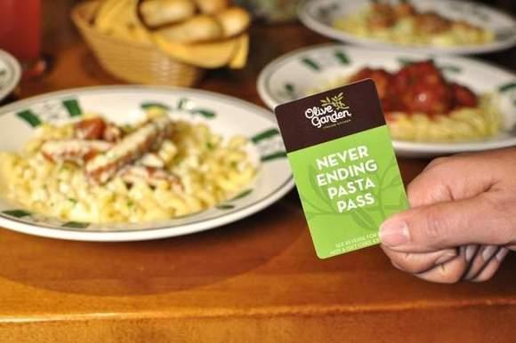 Ridiculous! RT @orlandosentinel: Olive Garden offers $99 deal for unlimited pasta today only http://t.co/eXuHlsqkfk http://t.co/MguIil9hSd